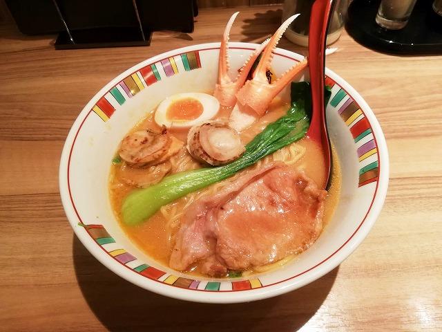 開高の海鮮豬玉拉麺